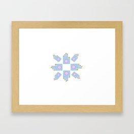 Hand 8 Framed Art Print