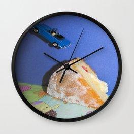 Cake Ramp Wall Clock