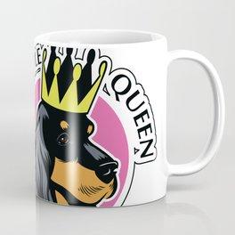 Black and tan cocker spaniel queen Coffee Mug