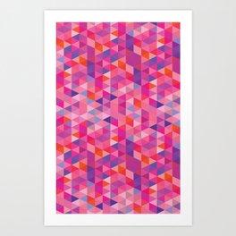 Cube One Art Print