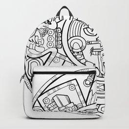 Pencil Wars Shield Backpack