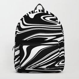 Stripes, distorted 4 Backpack
