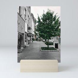 Bethlehem, Pennsylvania Street Photograph Color/Black & White Mashup Mini Art Print