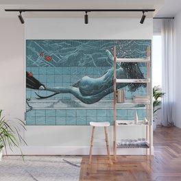 asc 961 - La sirène d'intérieur (My world is a goldfish bowl) Wall Mural