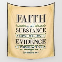 The Substance of Things Hoped for . . . Wall Tapestry