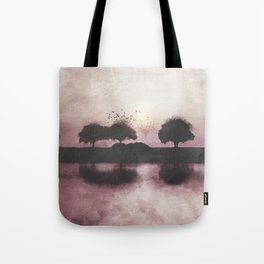 Positive Sunset Tote Bag