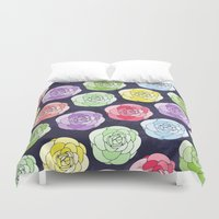 candy Duvet Covers featuring Candy by Anchobee