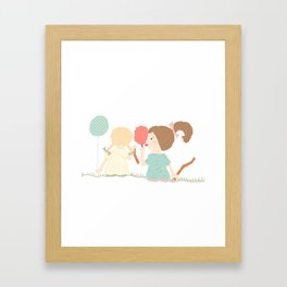 At The Carnival Framed Art Print