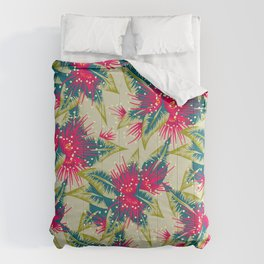 New Zealand Rata floral print (Day) Comforters