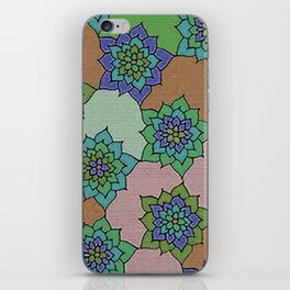 zakiaz autumn lotus iPhone Skin