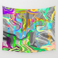 trippy Wall Tapestries featuring Trippy by Cale potts Art