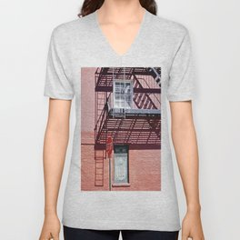 Stop in the shadows NYC Unisex V-Neck