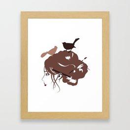 Birdsnest Framed Art Print