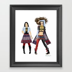 Fashion Journal: Day 11 Framed Art Print