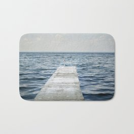 Out into the Lake Bath Mat