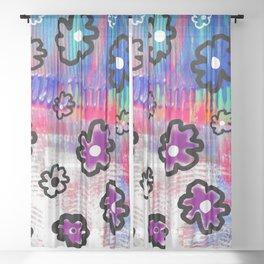 Brane flowers S33 Sheer Curtain