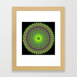 Snowflake #002 solid Framed Art Print