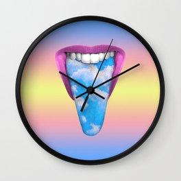 Eating Life Wall Clock