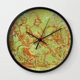 The Horsemen Wall Clock