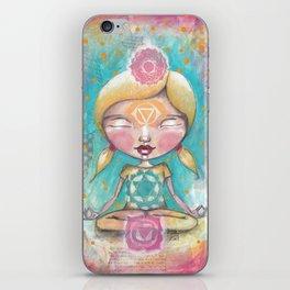 Chakra Girl iPhone Skin