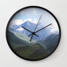 Mountains Wall Clock