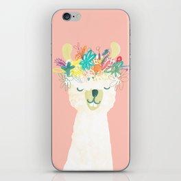Llama Goddess iPhone Skin