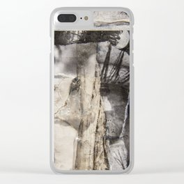 Eye Contact Clear iPhone Case