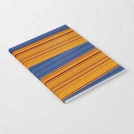 Sunrise Spot Weave Notebook