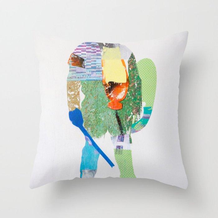 Defender Throw Pillow