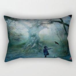 I Sleep In Stone One Rectangular Pillow