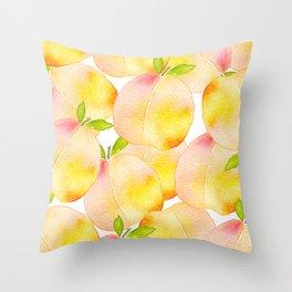 Millions of Peaches Throw Pillow
