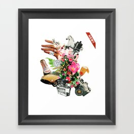 New! - Collage #3. Framed Art Print