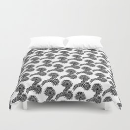 Joshua Tree Oscuro by CREYES Duvet Cover