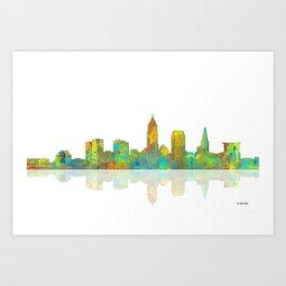 Cleveland, Ohio Skyline Art Print