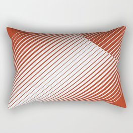 Red Moon Rising Rectangular Pillow