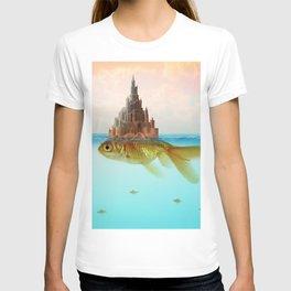 Goldfish Castle Island T-shirt
