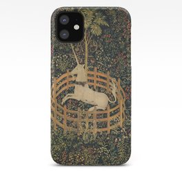 The Unicorn in Captivity iPhone Case