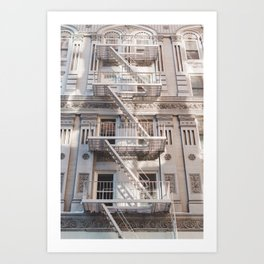 Sunshine in the Upper West Side - NYC Photography Art Print