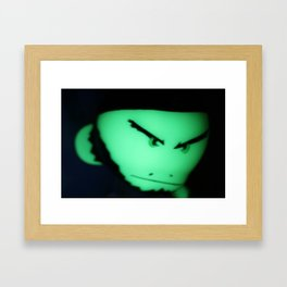 Glowing Che Munkey Framed Art Print