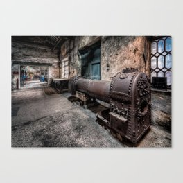 The Old Boiler Canvas Print