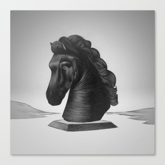 horse no.4 Canvas Print