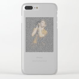 Ian Curtis : Unknown Pleasures Clear iPhone Case
