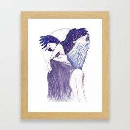 Wings Of An Eagle Framed Art Print