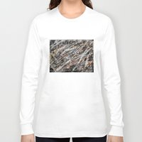 copper Long Sleeve T-shirts featuring Copper ore by Bruce Stanfield