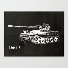 Tiger Tank Canvas Print
