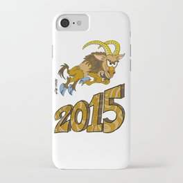 2015 Year of the Wooden Goat iPhone Case