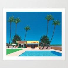 Hiroshi Nagai 5 Art Print