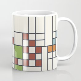 Stained glass pattern S02 Coffee Mug