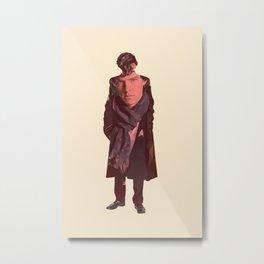 S K Holmes Double Exposure Metal Print