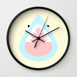 Steven the Shark Wall Clock